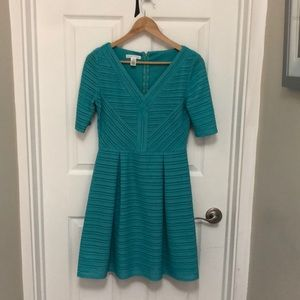 London Time Fit and Flair Dress